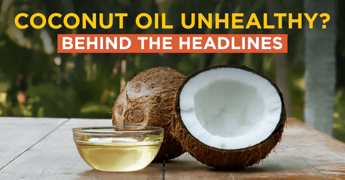 Image for Article Is Coconut Oil Unhealthy ?