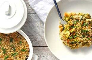 Vegan, Gluten-Free Pumpkin Vegetable Casserole
