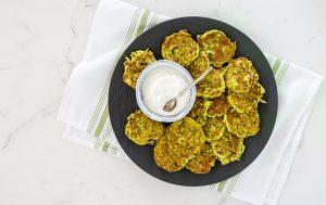 Zucchini-Parmesan Pancakes