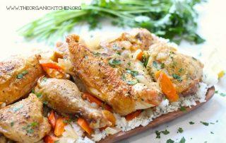 Gluten-Free Cinnamon Chicken and Rice