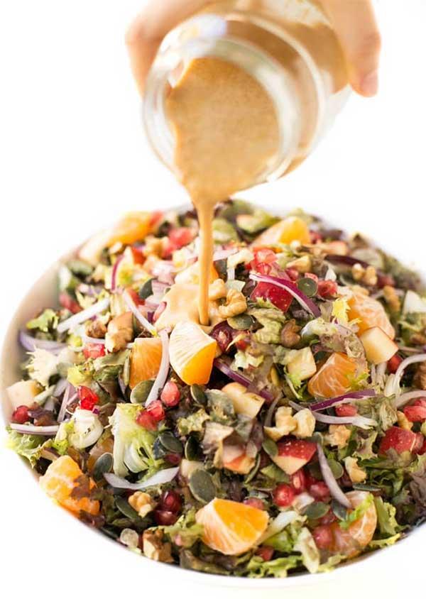 Vegan Holiday Salad